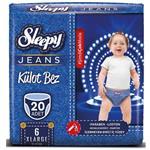 Sleepy Jeans 6 Numara Külot Bez 15-25 kg XLarge 20 Adet