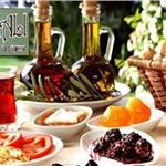Çiçekliköy Asmalı Kahvaltı Evi'nde Doğa ile iç içe Serpme Köy Kahvaltısı