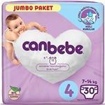 Canbebe 4 Numara Bebek Bezi Maxi 7-14 kg Jumbo Paket 30 Adet