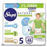 Sleepy Natural 5 Numara Külot Bez 11-18 kg Junior 48 Adet